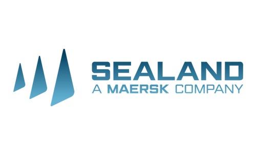 Logo sealand - compagnie maritime